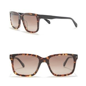 Fossil Square Sunglasses 54mm